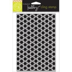 HA-CG654 Kelly Purkey Cling Stamp Background Squares