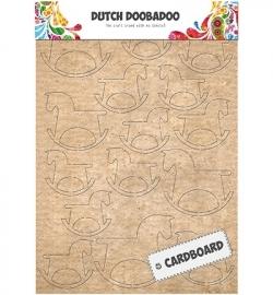 472.309.006  Cardboard Art Rocking Horse