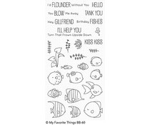 BB-60 My Favorite Things Stempel Gill Friends