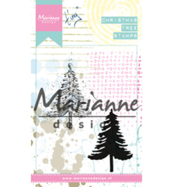 MM1625 Stempel Tiny's Christmas tree