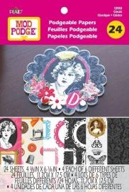 PE12932 Mod Podge Flip Book - Classic