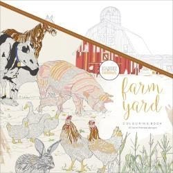 275669 KaiserColour Perfect Bound Coloring Book Farmyard