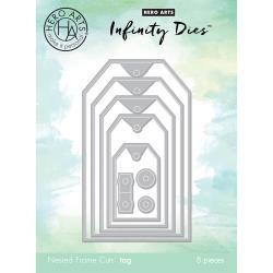 247760 Hero Arts Infinity Dies Tag