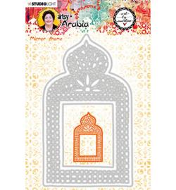 STENCILBM08 Art By Marlene Cutting & Embossing Die Artsy Arabia, nr.08
