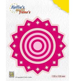MFD110 Nellie's Choice Multi Frame Dies Rosette sharp