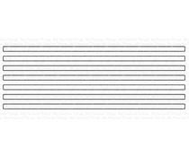 MFT-1585 My Favorite Things Skinny Stripes - Horizontal Die-namics