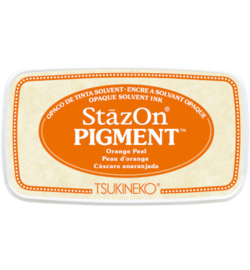 SZ-PIG-71 Tsukineko StazOn Pigment Orange Peel