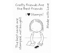 PI-297 My Favorite Things  Clear Stamps Crafty Friends