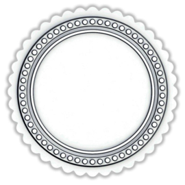 665379 Sizzix Switchlits Embossing Folder Seal By Tim Holtz