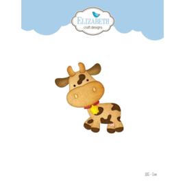 EC1855 Elizabeth Craft Metal Die Cow