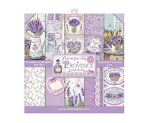 SBBS10 Stamperia Provence 8x8 Inch Paper Pack