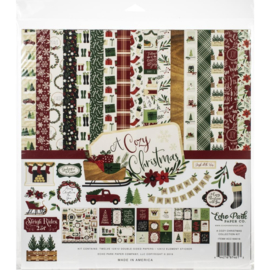 """601077 Echo Park Collection Kit A Cozy Christmas 12""""X12"""""""