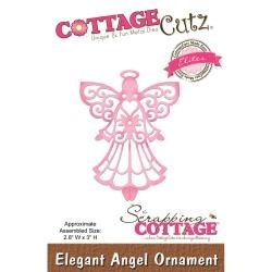 "439938 CottageCutz Elites Die Elegant Angel Ornament, 2.3""X3"""