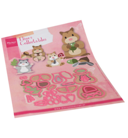 COL1489 Marianne Design collectables Eline's Hamster