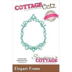 "423126 CottageCutz Elites Die Elegant Frame, 2""X3"""