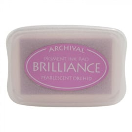 BR1-34 Brilliance ink pad pearl orchid