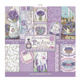 SBBL51 Stamperia Provence 12x12 Inch Paper Pad