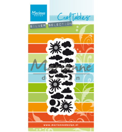 CR1459 Marianne Design Craftables Punch die Clouds