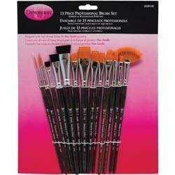 132754 Donna Dewberry Professional Brush Set 13/Pkg