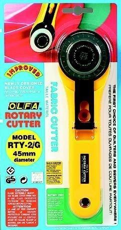 114975/1455 Olfa Rotary Cutter 45 mm