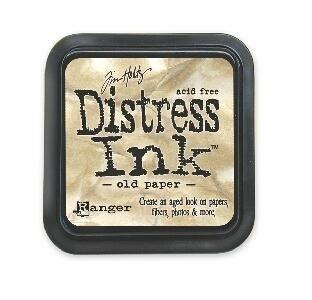 TIM19503 Distress Inkt Old Paper
