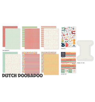 472.100.004 Dutch DooBaDoo Crafty kit One More Stitch