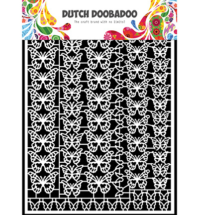 472.948.051 Dutch DooBaDoo Dutch Paper Art Butterflies