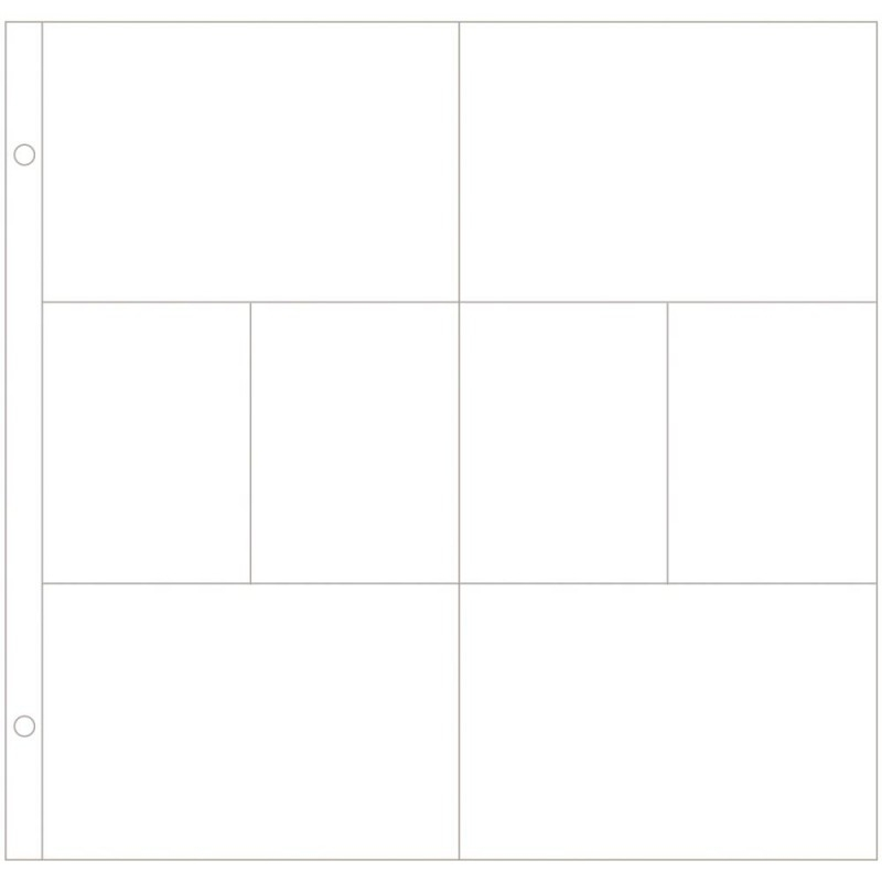 040141 Project Life Photo Pocket Pages 60/Pkg Design A