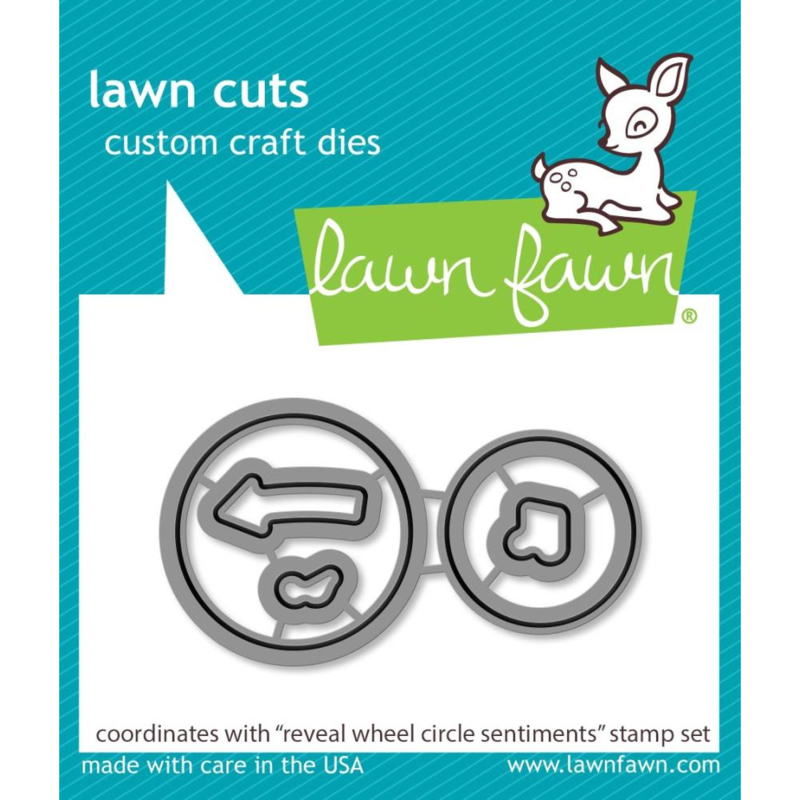 LF2226 Lawn Cuts Custom Craft Die Reveal Wheel Circle Sentiments