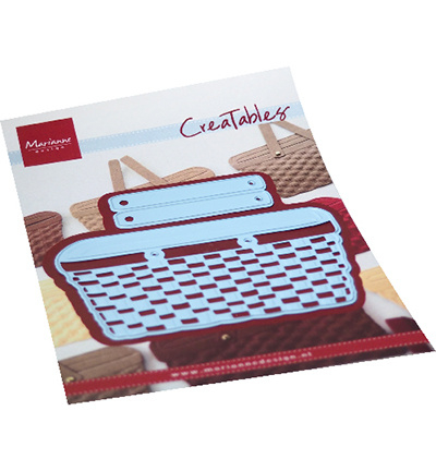 LR0702  Marianne Design Creatables Wicker Basket