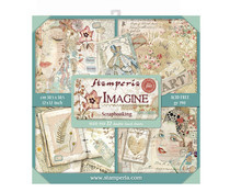 SBBXL04 Stamperia Imagine 12x12 Inch Maxi Paper Pack