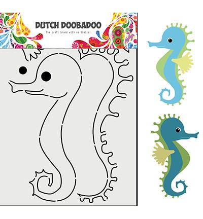 470.713.848 Dutch DooBaDoo Card Art Built up Zeepaard
