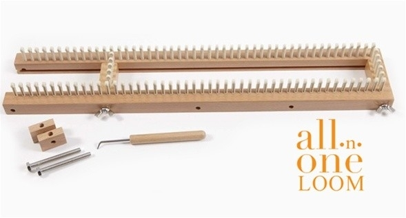 071200 Authentic Knitting Board All-N-One Loom With Projects