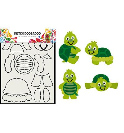 470.713.828 Dutch DooBaDoo Card Art Built up Schildpad
