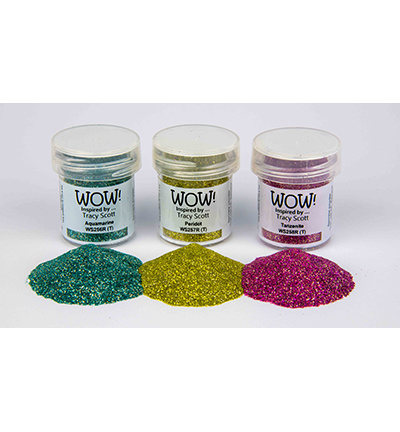 WOWKT029 WOW! Embossing powder Trio Gemstone