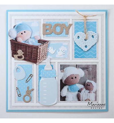 CR1456 Craftables Punch die Baby items