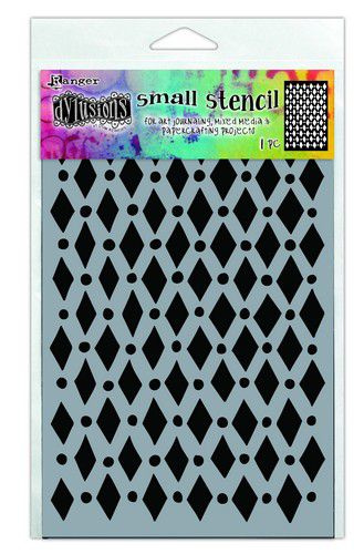 306730/1433 Ranger Dylusions Stencils Court Jester