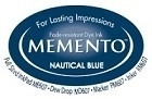 222123 Memento Full Size Dye Inkpad Natical Blue