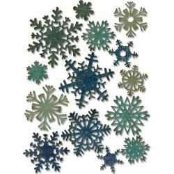 661599 Sizzix Thinlits Dies Mini Paper Snowflakes By Tim Holtz
