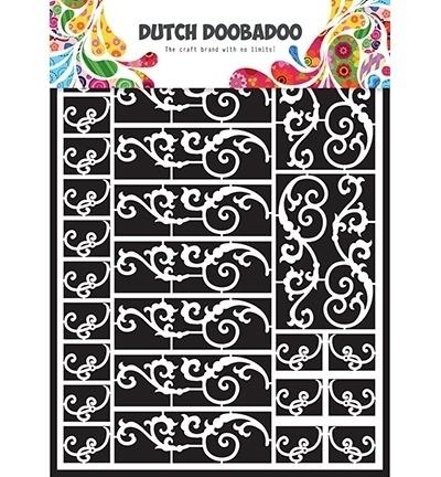 472948006 Dutch Doobadoo Laservel Swirls