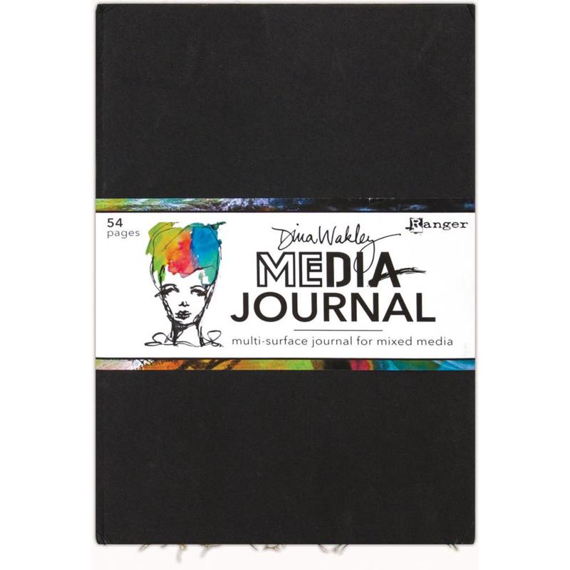 """352284 Dina Wakley Media Journal 10""""X14.25"""""""