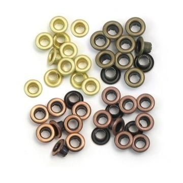 117027/6009 Eyelets Warm Metal