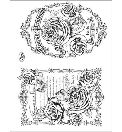 6993 Viva Decor Clear Stamps Fleurs de Printemps