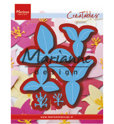 LR0610 Marianne Design Cutting & embossing Lily