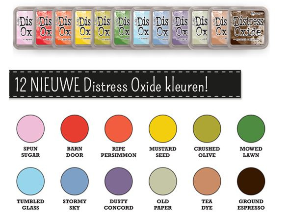 TDO 56256 Tim Holtz Distress Oxides Ink Pad Stormy Sky
