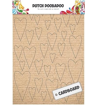 472.309.003 Cardboard Art Hearts