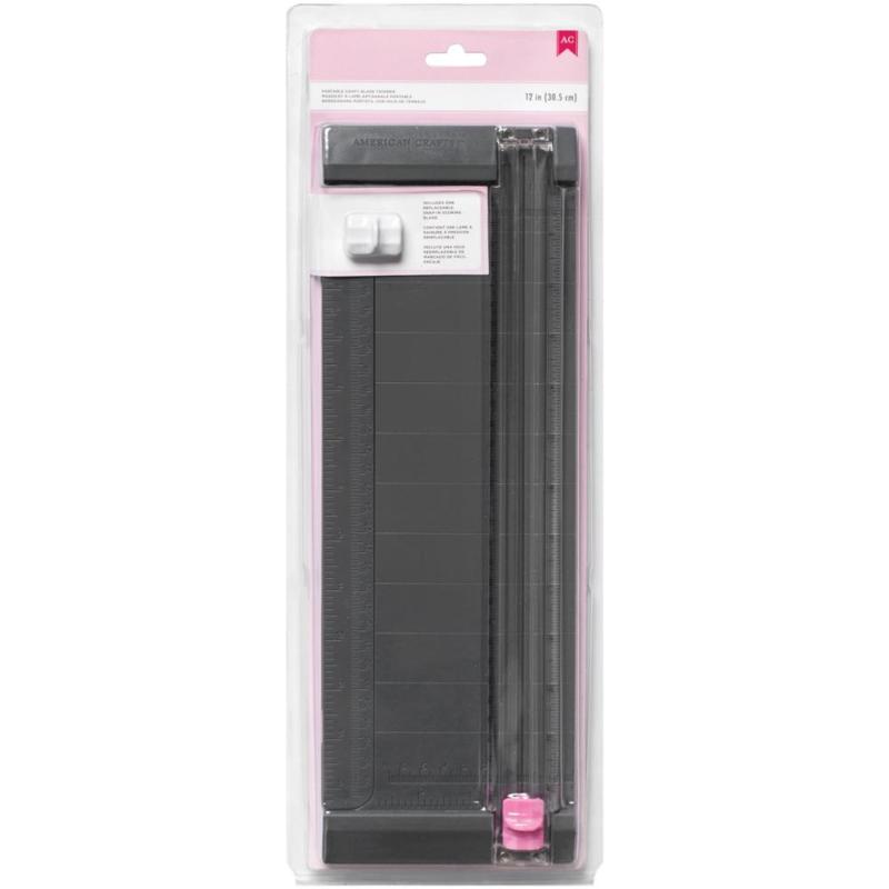 """368095 Pink Craft Blade Trimmer 12"""""""