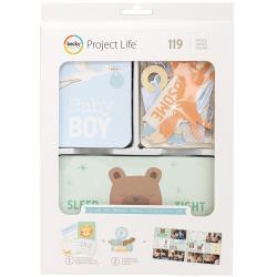 291820 Project Life Value Kit Lullaby Boy 120/Pkg