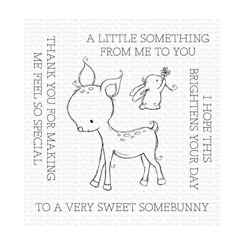 "RAM004 My Favorite Things Clear Stamps A Very Sweet Somebunny 4""X4"""