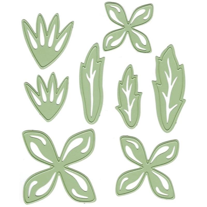 458503 Lea`bilities Cut & Emboss Dies Multi Flower 1